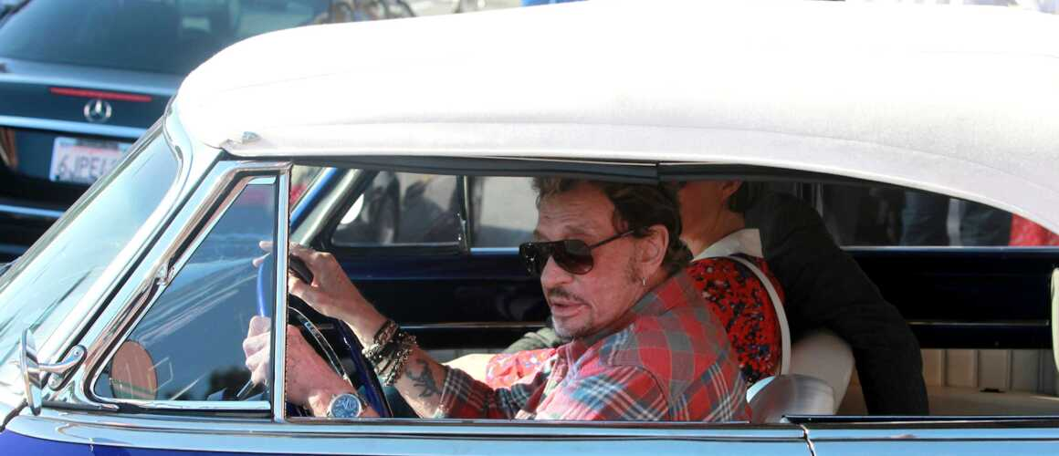 johnny hallyday sa voiture sera vendue plusieurs millions d 39 euros. Black Bedroom Furniture Sets. Home Design Ideas