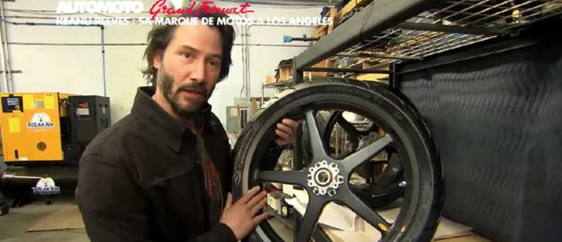 le h ros de matrix keanu reeves s 39 invite chez automoto tf1. Black Bedroom Furniture Sets. Home Design Ideas