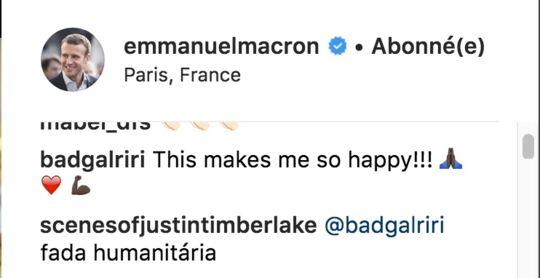 Naturalisation de Mamoudou Gassama : Le message de Rihanna à Macron